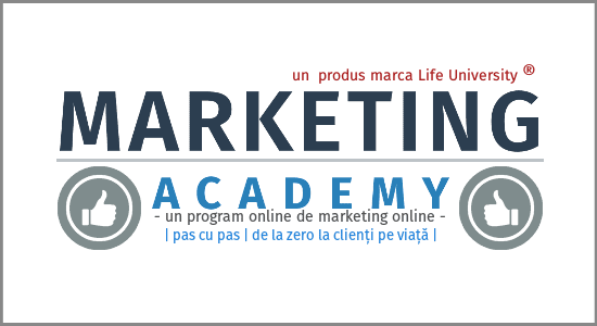curs marketing online - marketing academy