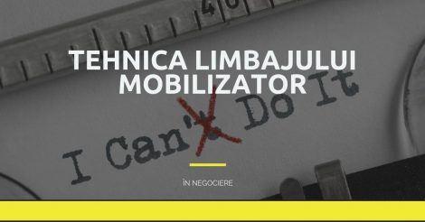 tehnica limbajului mobilizator