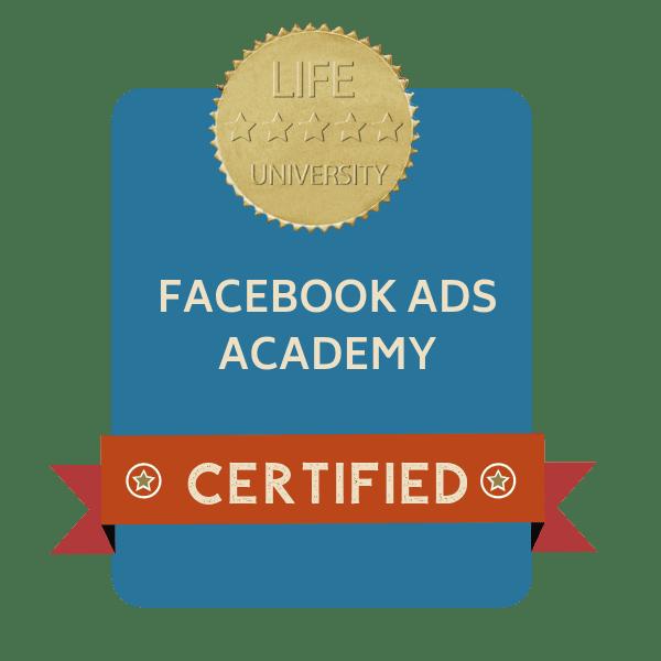 badge facebook ads academy
